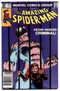 AMAZING SPIDER-MAN #219 comic book-1981-MARVEL nm-