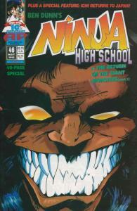 Ninja High School #46 FN; Malibu | save on shipping - details inside