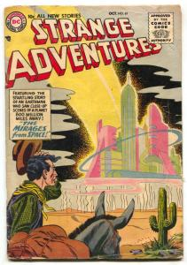 Strange Adventures #61 1955- Mirages from Space- Thermometer Man