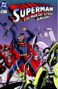 Superman: The Man of Steel Gallery #1, VF (Stock photo)