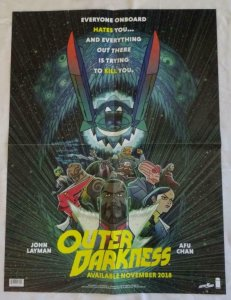 OUTER DARKNESS Promo Poster , 18 x 24,  2018, IMAGE,  Unused 076