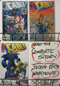 CABLE (1993) 17-19 The Dark Ride complete story!