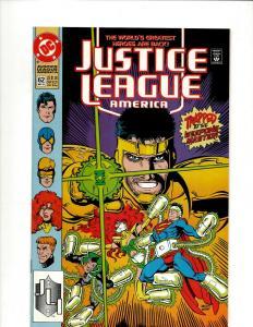 12 Justice League America DC Comic #62 63 64 65 66 67 68 69 70 71 72 73 JF25
