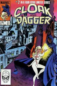 CLOAK and DAGGER #2, FN/VF, 1983, BellyFull, more Marvel in store