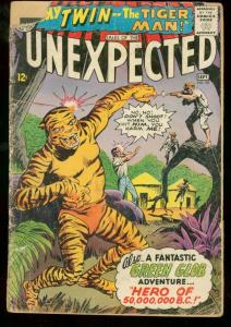 TALES OF THE UNEXPECTED #90 1965 DC TIGER COVER FR