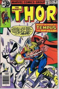 1979 Thor #282 Marvel Comics Tempus God Killer VINTAGE