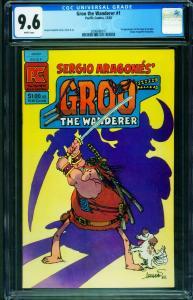 GROO THE WANDERER #1 CGC 9.6-1982-ARAGONES 2006680017