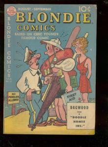 BLONDIE COMICS #13 1949-CHIC YOUNG-JIMMY HATLO-P BUNYAN VG
