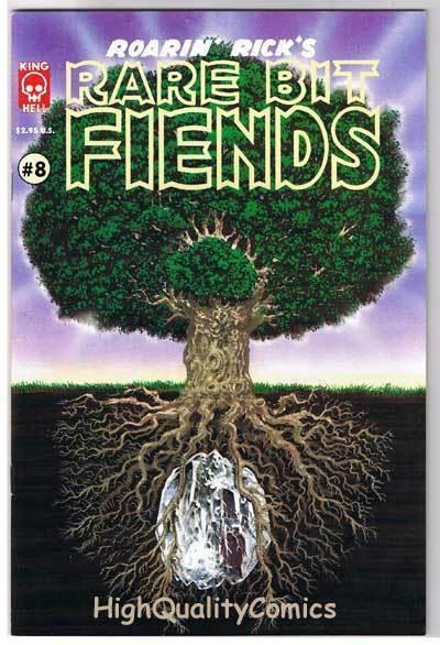 RARE BIT FIENDS #8, NM, Rick Veitch, King Hell Press, 1994,