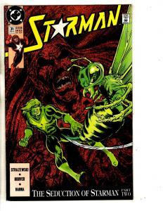 Lot Of 8 Starman DC Comic Books # 31 32 33 34 35 36 37 38 Batman Superman CR17