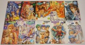 Drunken Fist #1-54 VF/NM complete series - tony wong presents jademan kung fu