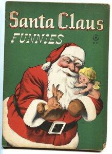 SANTA CLAUS FUNNIES #128 1946-DELL-FOUR COLOR-VG-