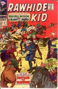 RAWHIDE KID (1960-1979) 61 VG-F Dec. 1967 COMICS BOOK
