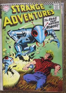 STRANGE ADVENTURES #197 (DC, 2/1967) F-VF Infantino cover!