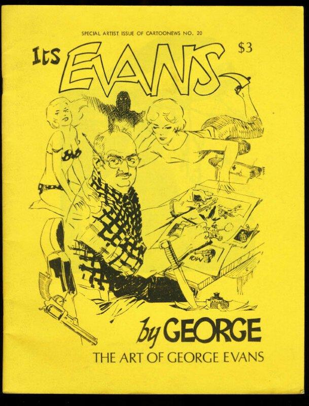 CARTOONEWS #20-1977-SPECIAL GEORGE EVANS ISSUE FN