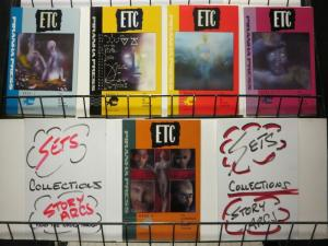 ETC (PIRANHA) 1-5 FUTURE HARD SCIFI Tim Conrad