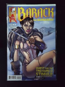 Barack the Barbarian: Quest for the Treasure of Stimuli! #1 Varaint Cover (2009)