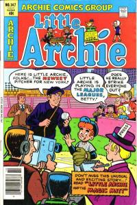 Little Archie #147, NM- (Stock photo)