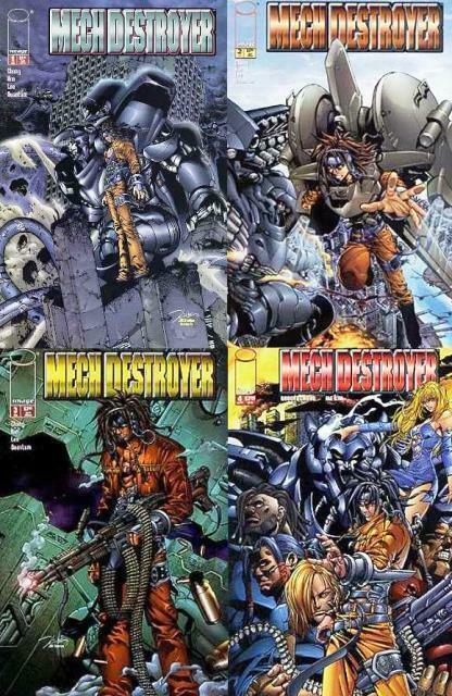 MECH DESTROYER (2001 IM) 1-4  complete story! COMICS BOOK