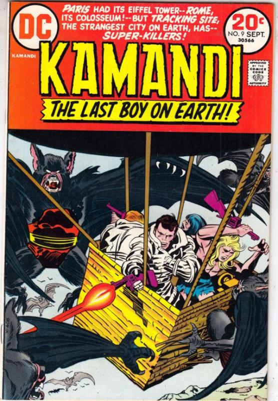 Kamandi the Last Boy on Earth #9 (Sep-73) NM/NM- High-Grade Kamandi
