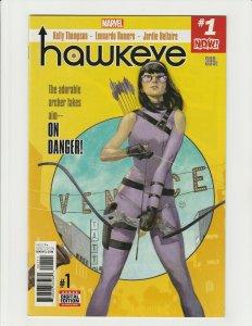 Hawkeye #1 (Marvel 2017) 1st Kate Bishop Solo Title
