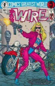 Comics' Greatest World—Steel Harbor #1 VF/NM; Dark Horse   save on shipping - de