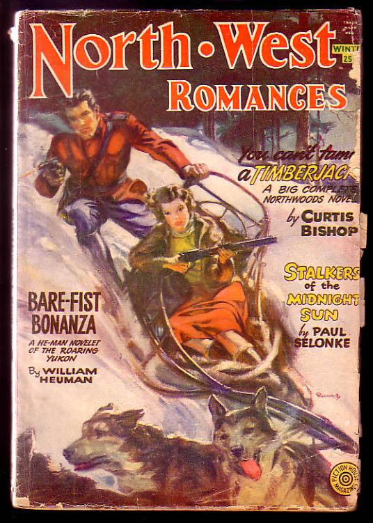 NORTH WEST ROMANCES 1951-52 WINT-BARE-FIST BONANZA VG
