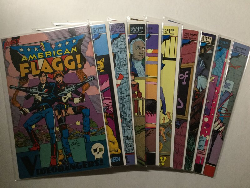 American Flagg 1-31 Nm- Near Mint- 9.2 First Comics