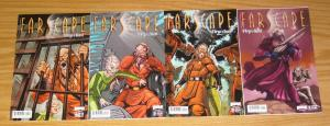 Farscape: D'Argo's Quest #1-4 VF/NM complete series - after season three - A set