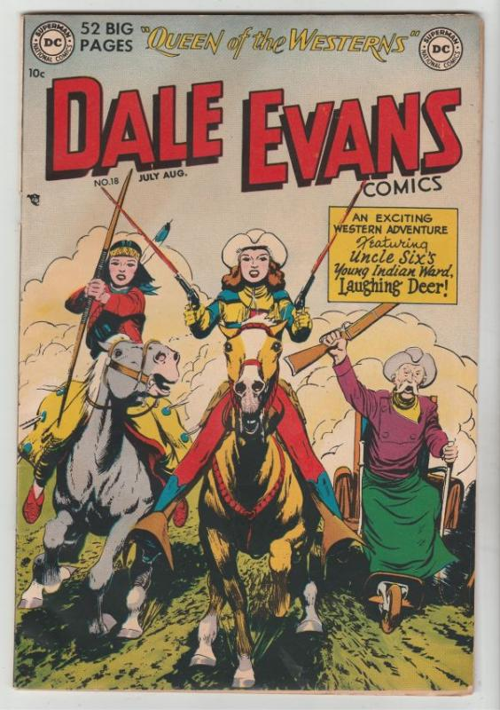 Dale Evans Comics #18 (Jul-51) VF/NM High-Grade Dale Evans