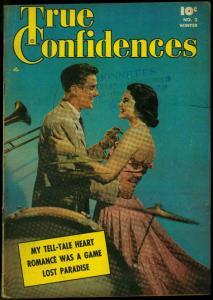 True Confidences #2 1950- Photo cover- Fawcett Golden Age Romance VG