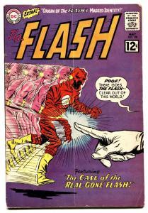 FLASH #128 1962 DC COMICS-WILD COVER-First Abra Kadabra