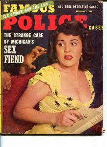 MASTER DETECTIVE-FEB 1954-G--MURDER-SPICY -EXTORTION-TERROR-SEX FIEND G