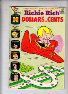 Richie Rich Dollars and Cents #28 (Feb-69) FN Mid-Grade Richie Rich