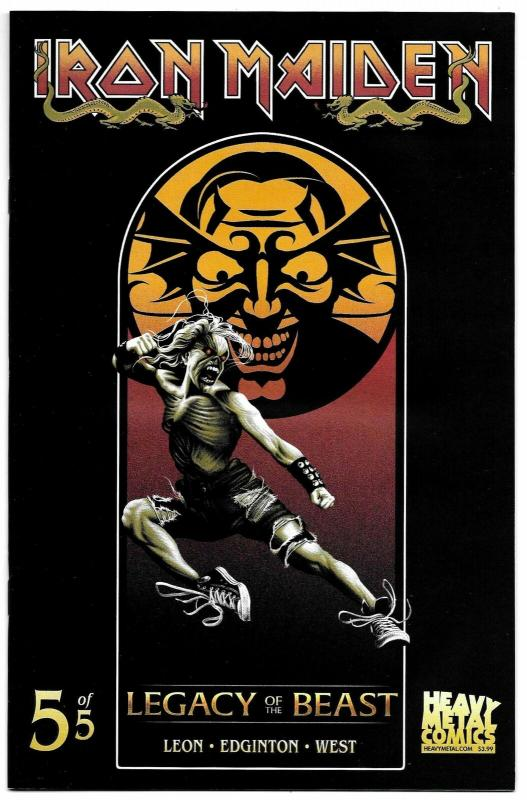 Iron Maiden Legacy Of The Beast #5 Cvr B (Heavy Metal, 2018) NM