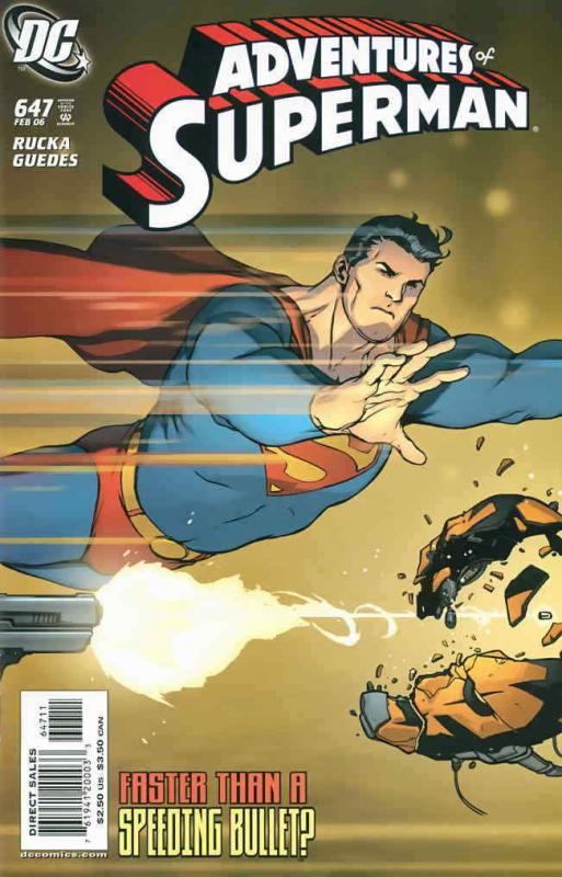 Adventures of Superman #647 FN; DC | save on shipping - details inside