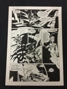 Captain Cosmos Page 30 Original Art Joe Stanton Nicola Cuti Space Opera