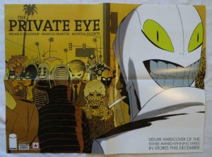 PRIVATE EYE Promo poster, 17 x 22, 2015, IMAGE, Unused, more in our store  007