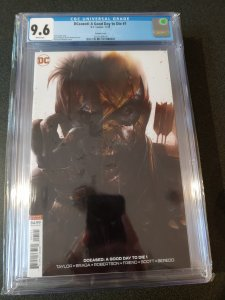 DCEASED: A GOOD DAY TO DIE #1 - CGC 9.6 - FRANCESCO MATTINA VARIANT