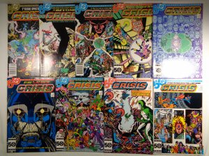 Crisis On Infinite Earths #1 2 3 4 5 6 9 10 11 DC 1985/86