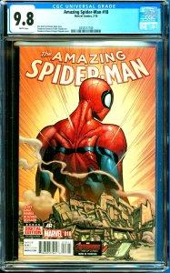 Amazing Spider-Man #18 CGC Graded 9.8