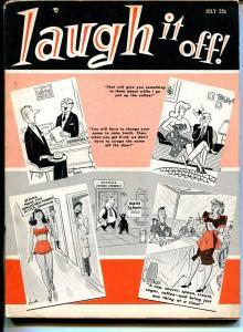 Laugh It Off 7/1961-Humorama-Bill Ward-VG-