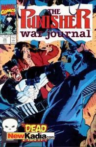 Punisher War Journal (1988 series) #28, NM + (Stock photo)
