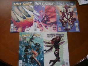 5 Marvel Comics MAX RIDE FIRST FLIGHT Comic #1 #2 #3 #4 #5 (James Patterson)