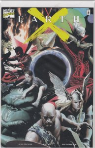 EARTH X #1  X NM  DYNAMIC  FORCES EXCLUSIVE ALTERNATE CVR.  #1299