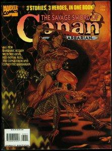 The Savage Sword of Conan #230 1995- Rare late issue- Marvel Magazine VF