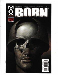 BORN #1 MAX COMICS PARENTAL ADVISORY EXPLICIT CONTENT  VF/FN     MARVEL COMICS