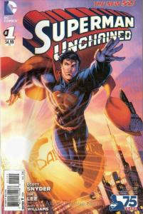 Superman Unchained #1J VF/NM; DC | save on shipping - details inside