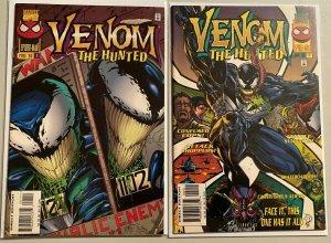 Venom the hunted #1+2 8.0 VF (1996)