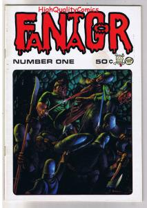 FANTAGOR #1, FN+, Richard Corben, Den, Heavy Metal, 1970, more in store